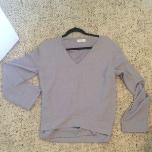 Aritzia Babaton long sleeve blouse size M